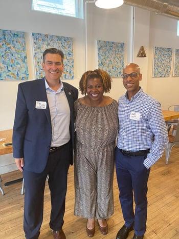 June 24. Dwyer Senator Latonya Johnson and Ward (002)