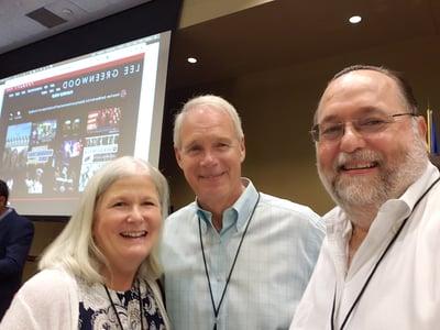 June, Harry Dorman photo with Jane and Sen. Ron Johnson